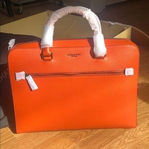 NWT Michael Kors Harrison briefcase